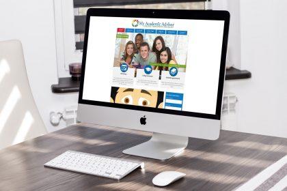 College Advisor Website Design